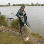 Németh László a legnagyobb halat fogta.